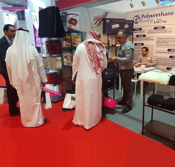 هوشمند در نمایشگاه عرب هلٍ 2017